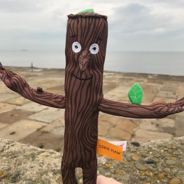 Stickman and the sea